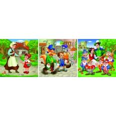 Märchen - Rotkäppchen - Pinocchio - Schneewittchen