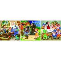 Märchen - Pinocchio - Hänsel und Gretel - Schneewittchen [magnetisch]