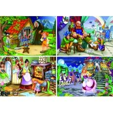 Märchen - Hänsel und Gretel - Der gestiefelte Kater - Aschenputtel