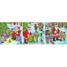 Weihnachtsmann - Kinderbesuch