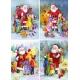 Weihnachtsmann - bringt Geschenke