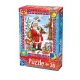 Weihnachtsmann - zufriedene Tiere
