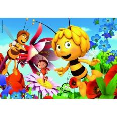 Biene Maja auf der Blumenwiese