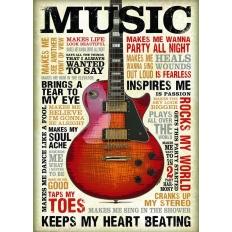 Leidenschaft zur Musik