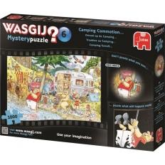 Camping-tumult - Wasgij Mystery 6