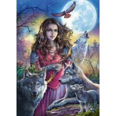 Patronin der Wölfe