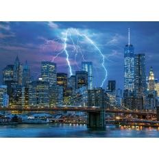 Blitze über New York