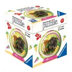 Kaninchen - Puzzleball