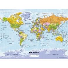 Weltkarte, politisch