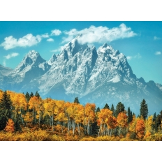 Grand Teton in fall