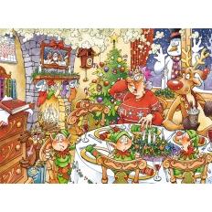 Truthahn im Glück - Wasgij Christmas 13