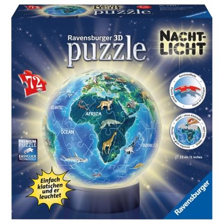 Nachtlicht Erde im Nachtdesign