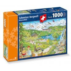 Schweizer Bergwelt - Wimmelbild