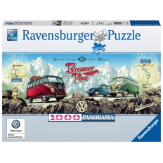 Mit dem VW Bulli über den Brenner