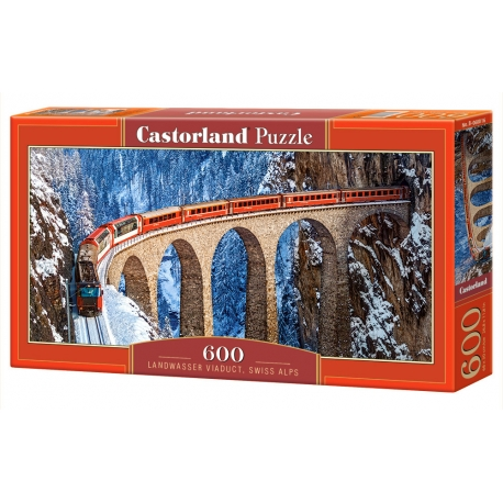 Landwasser Viaduct - Swiss Alps
