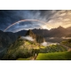 Regenbogen über Machu Picchu - Peru