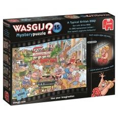 Eine typisch englische Grillparty! - Wasgij Mystery Nr. 15
