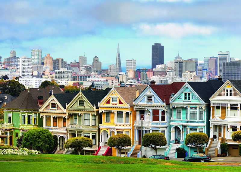 Painted Houses San Francisco Address